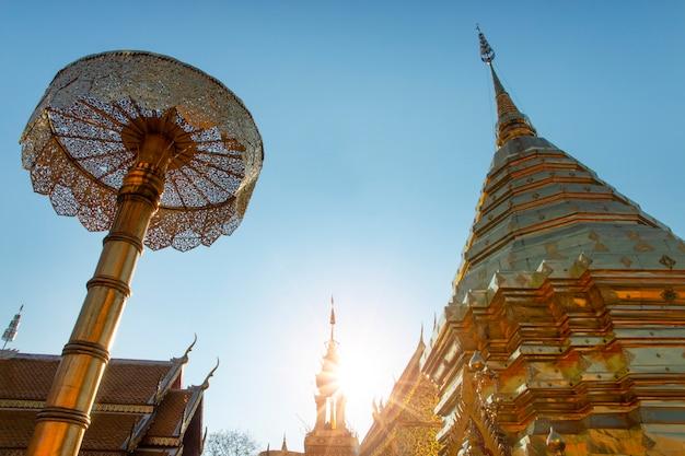 Wat phra that doi suthep à chiang mai, thaïlande.