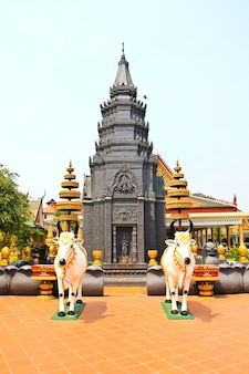 Wat preah prom rath à siem reap au cambodge