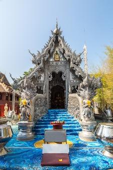 Wat sri suphan (temple d'argent) à chiang mai, thaïlande