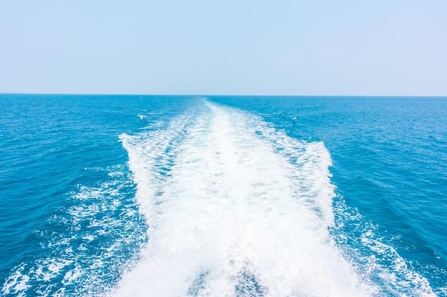 Wave sea