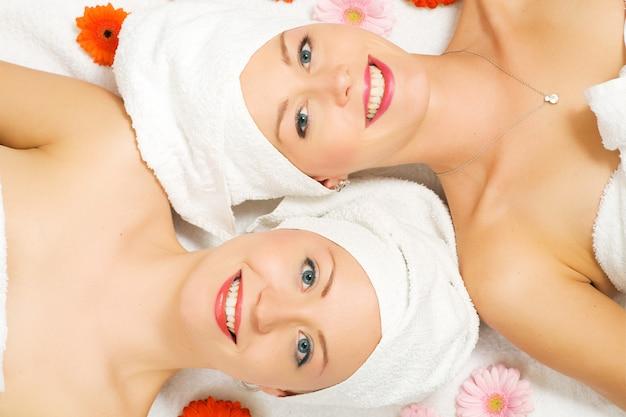 Wellness girls et fleurs