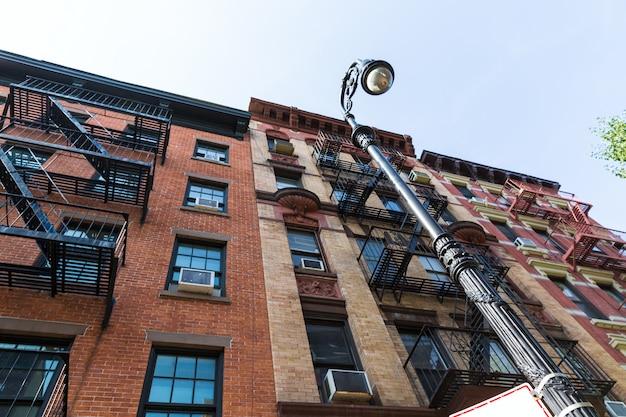 West village à new york, bâtiments de manhattan