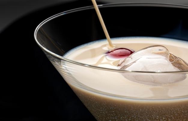 Whisky irlandais à la crème
