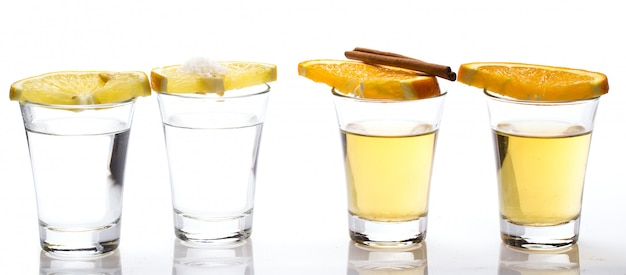 Whisky et tequila