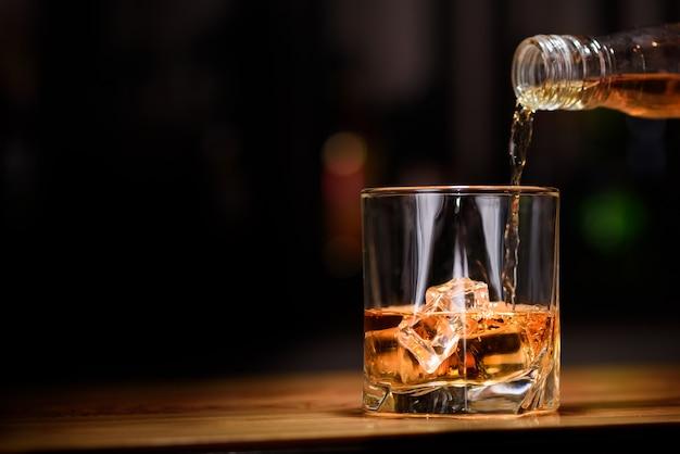 Whisky en verre