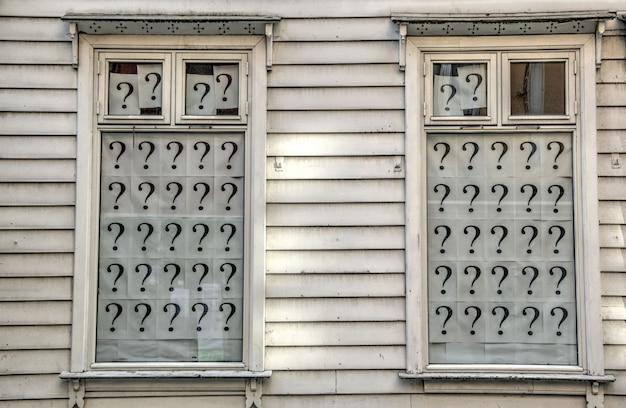 Windows avec points d'interrogation