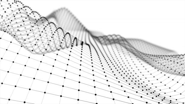Wireframe - un modèle tridimensionnel squelettique dans lequel seuls les lignes et les sommets sont représentés en rendu 3d