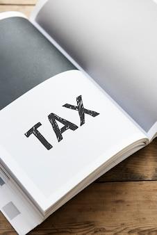 Word tax sur un livre