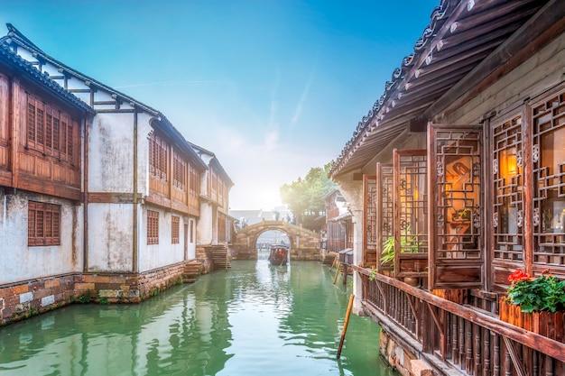 Wu zhen water town en chine