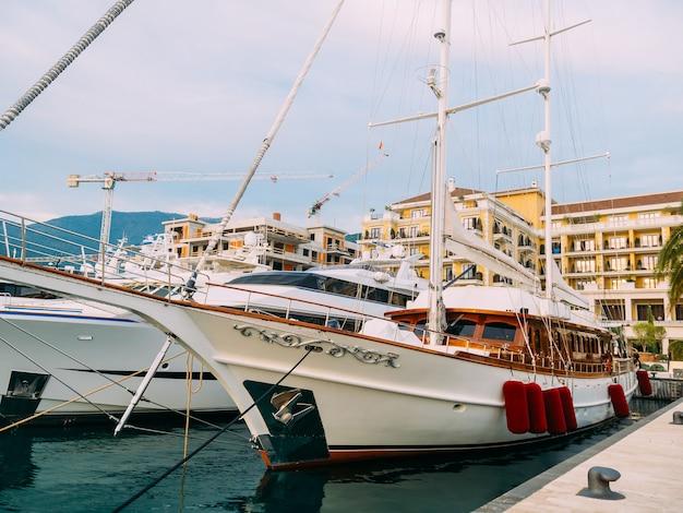 Yacht porto montenegro elite area of tivat