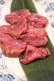 Yakiniku bbq de viande de wagyu