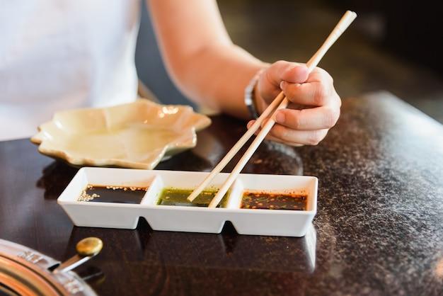 Yakiniku corée nourriture pour barbecue