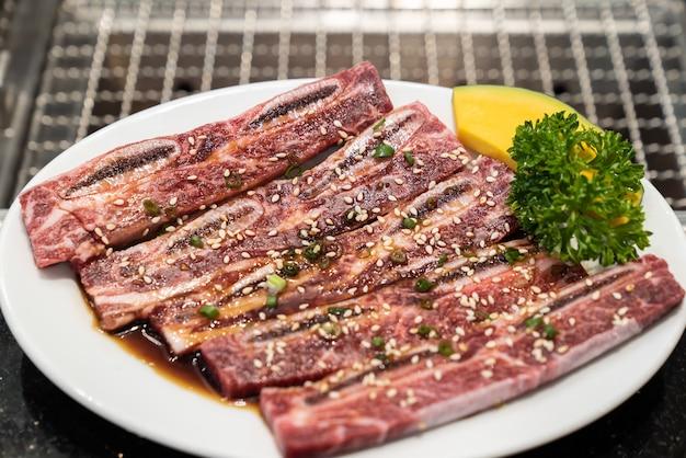 Yakiniku de côte de bœuf wagyu