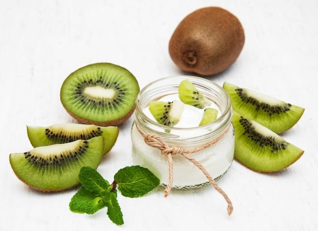 Yaourt kiwi