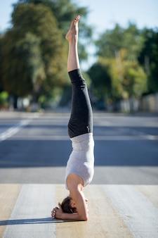Yoga de la rue: salamba shirshasana