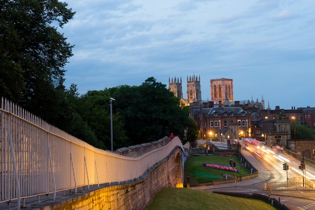 York city & york minster, angleterre royaume-uni