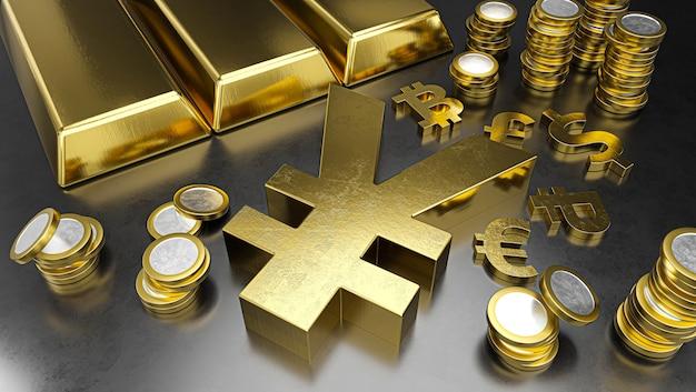 Le yuan se démarque des autres devises, le rouble se renforce. fond de bourse, concept bancaire ou financier.