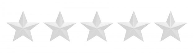Zéro sur cinq étoiles