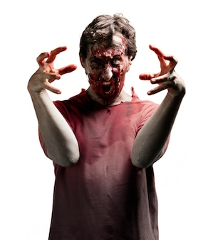 Zombie en colère