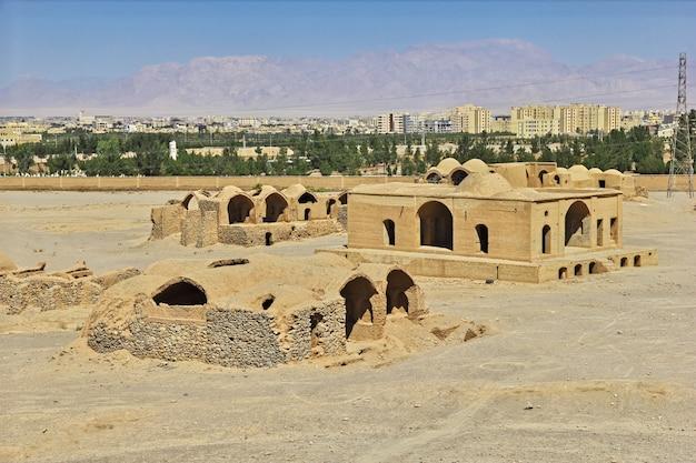 Zoroastrien à yazd d'iran