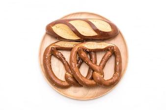 Bretzel et pain de laugan nature