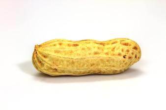 Cacahuètes séchées en gros plan