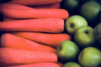 Carotte Green Apple Frais Sains