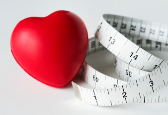 CLoseup de ruban à mesurer