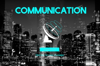 Communication Broadcast Connection Concept de télécommunication par satellite