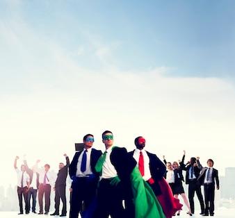 Concept de succès d'entreprise célébration d'entreprise