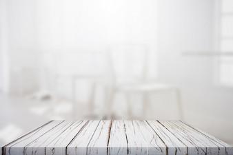 Dessus de table avec fond