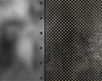 Fond de texture métallique de style grunge