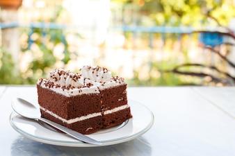Gâteaux au chocolat dans la maison
