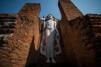 Image de Bouddha blanc en Thaïlande