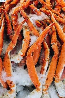 Les pinces de crabe se bouchent