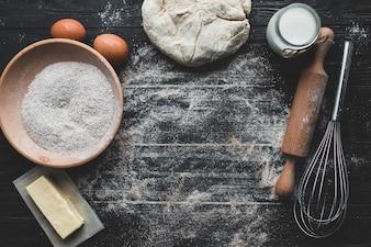 Lieu de travail du pain aking