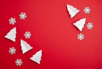 Maquette de Noël festive