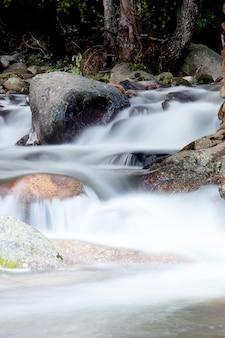 Nice creek avec de l'eau claire