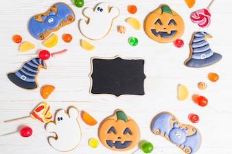 Pain d'épice noir d'Halloween