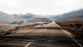 Paysage Contry Road Destination de voyage Concept rural