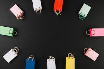 Petits paquets colorés