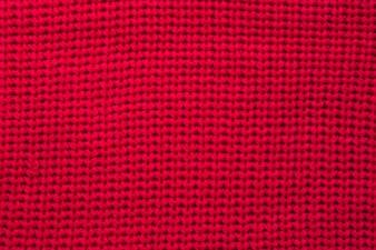 Plan complet du sweat-shirt rouge