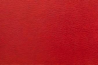 Plein cadre photo de fond en cuir rouge