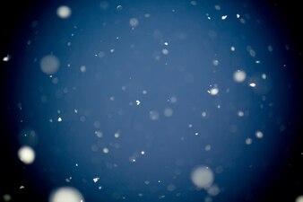 Première tempête de neige