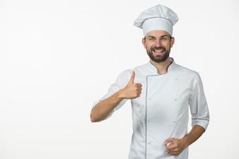 Toque people vecteurs et photos gratuites for Cuisinier bras