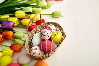 Vacances de Pâques en bois blanc