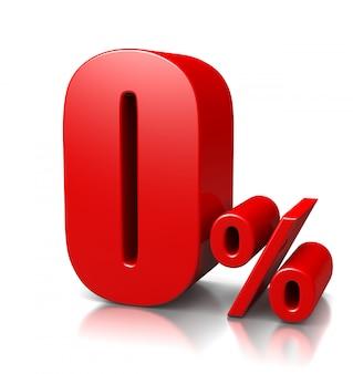 0 per cento