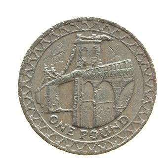 Moneta da 1 sterlina, regno unito
