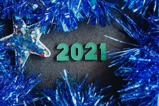 2021 anni decorazioni per alberi di natale