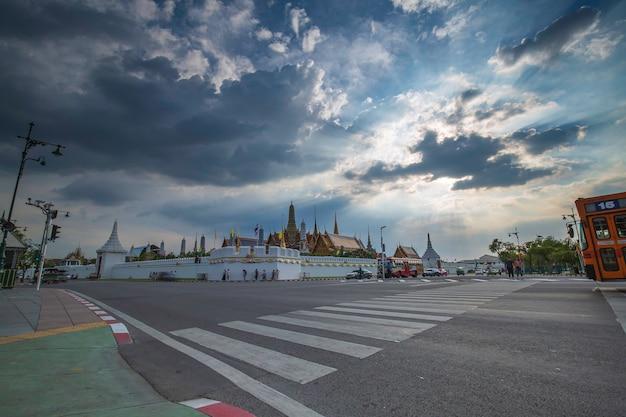 21 ottobre 2019 bangkok, thailandia wat phra kaew - il tempio del buddha di smeraldo